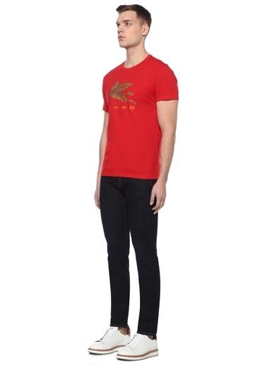 Etro Tişört Kırmızı